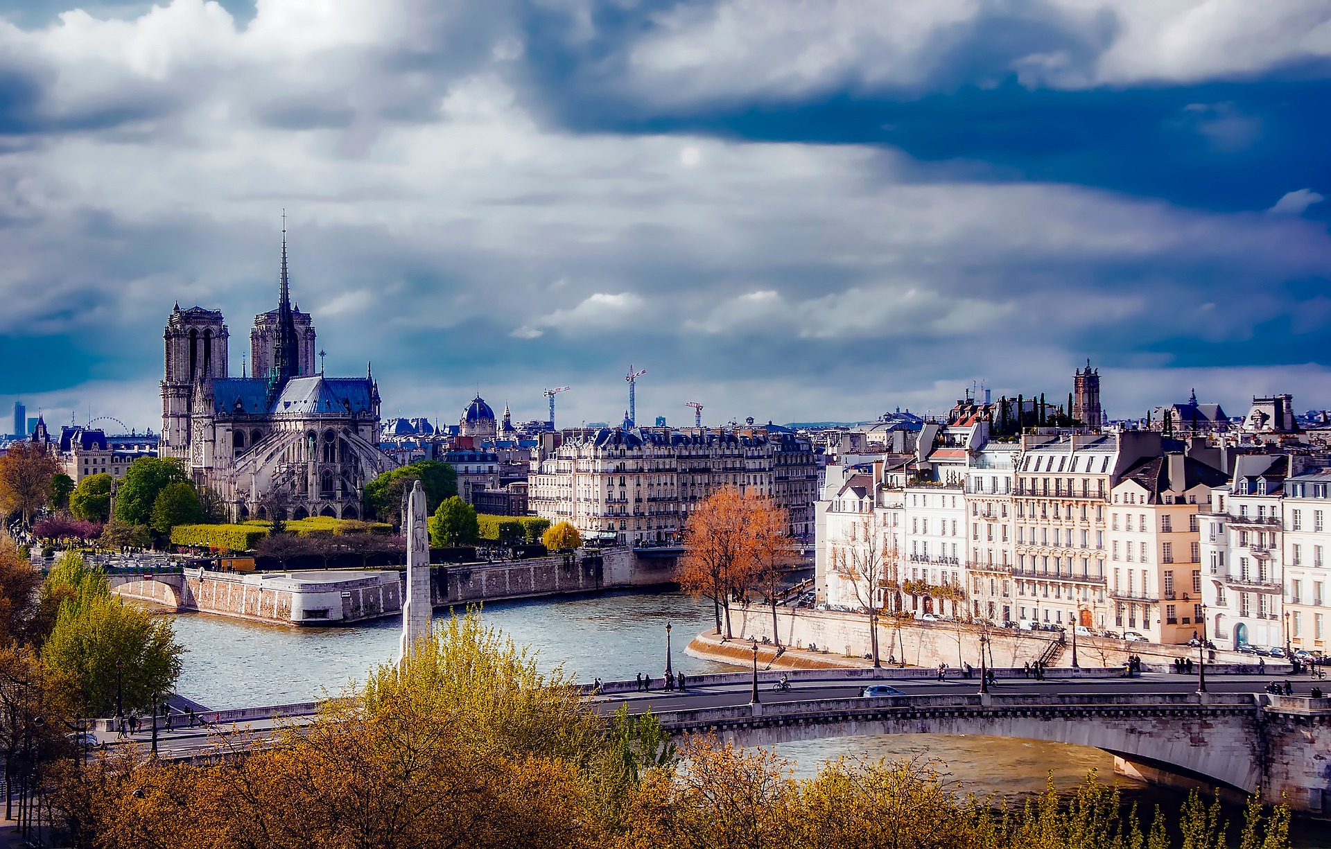 Слетать осенью во Францию