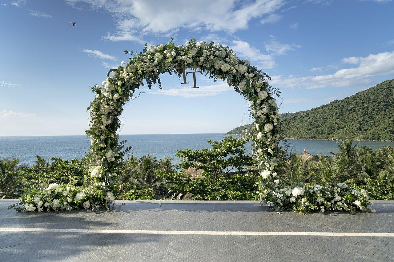 Свадебная церемония на острове