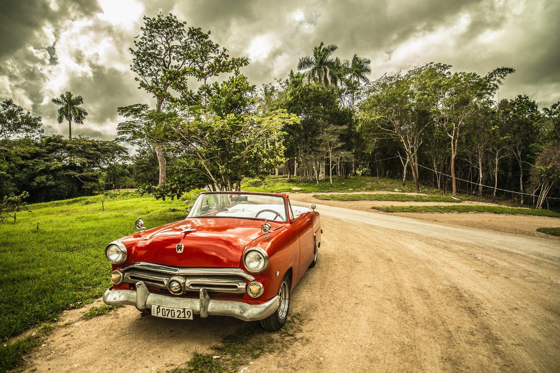 Ретро-авто на Кубе