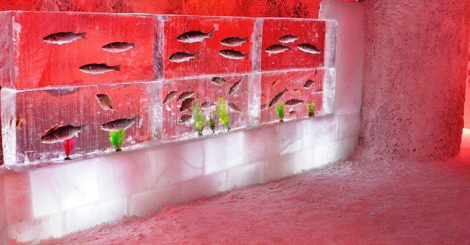 Декор в океанариуме Анталии