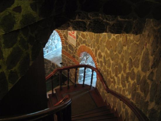 Внутри Галатской башни
