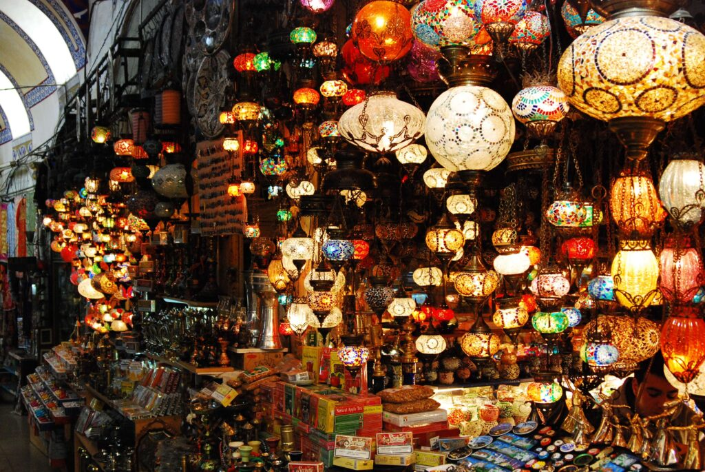 Лампы в Гранд Базаре