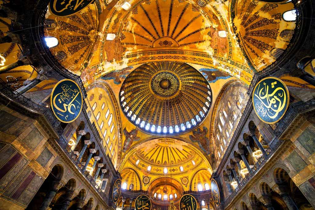 Купол Собора Святой Софии