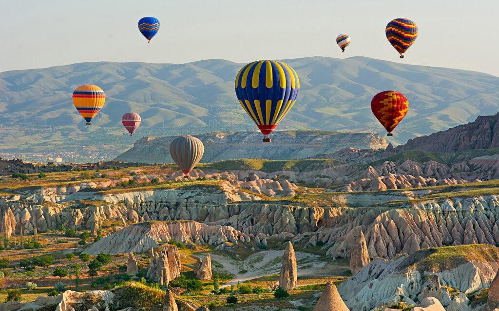 Полет на воздушных шарах в Каппадокии