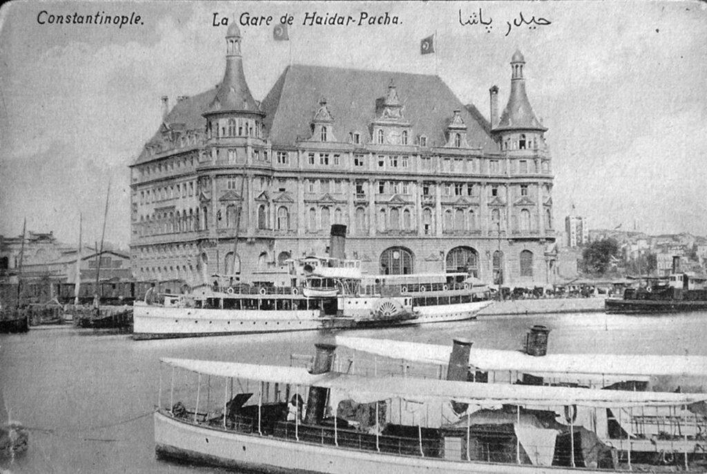 Старый снимок вокзала Хайдарпаша