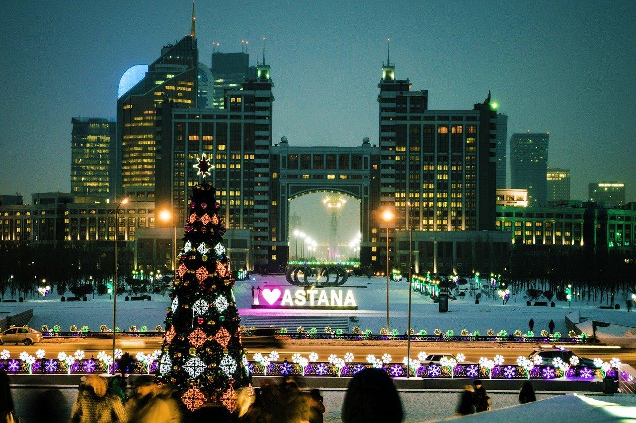 Астана зимой