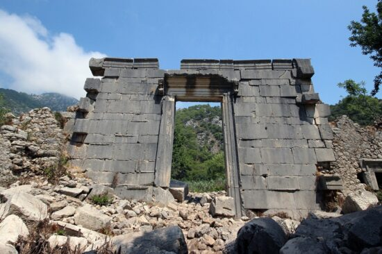 Руины в Олимпусе