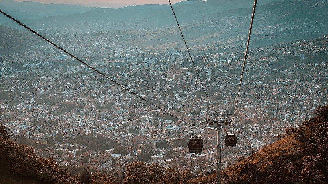Канатная дорога в Сараево