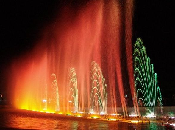 Поющий фонтан в Анталье