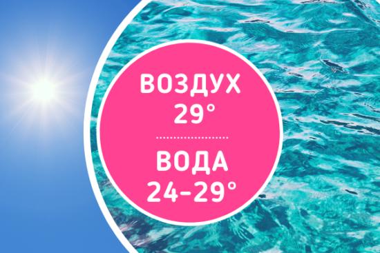 Погода в Турции в сентябре