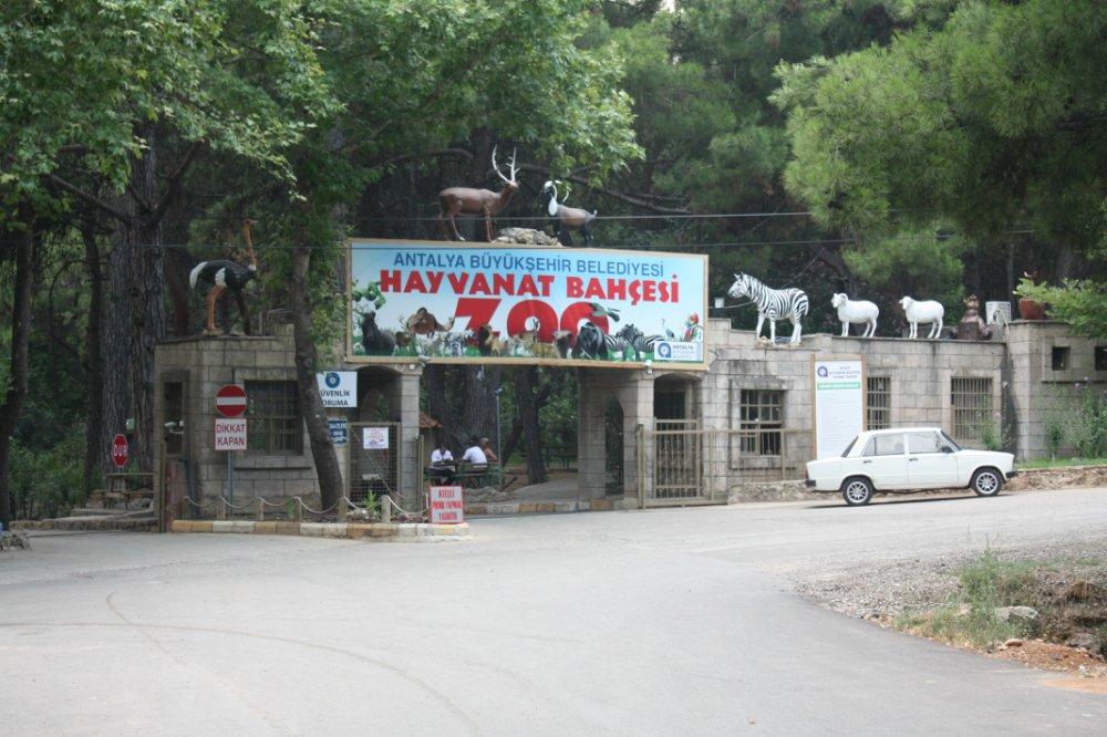 Вход в зоопар Антальи