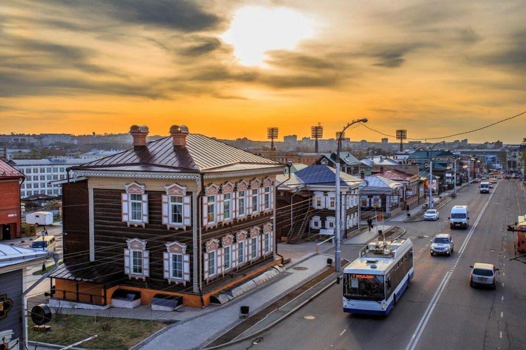 130-ый квартал Иркутска