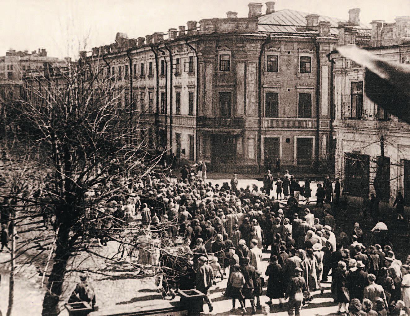 Празднование 9 мая 1945 года в Иркутске