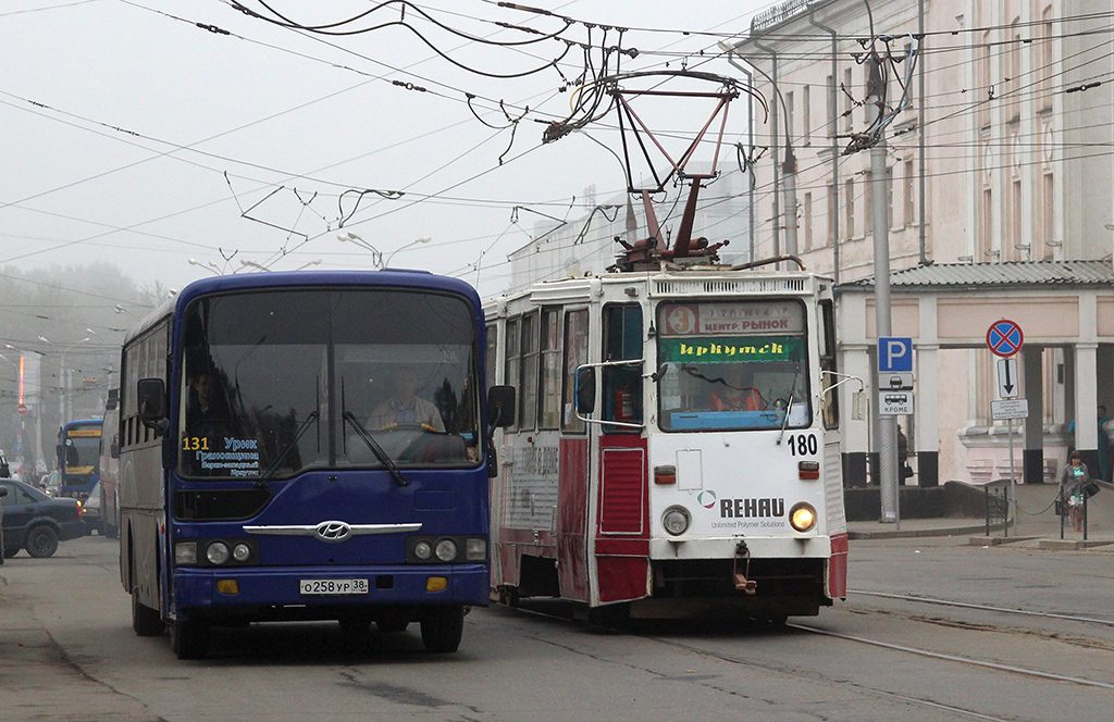 Транспорт Иркутска