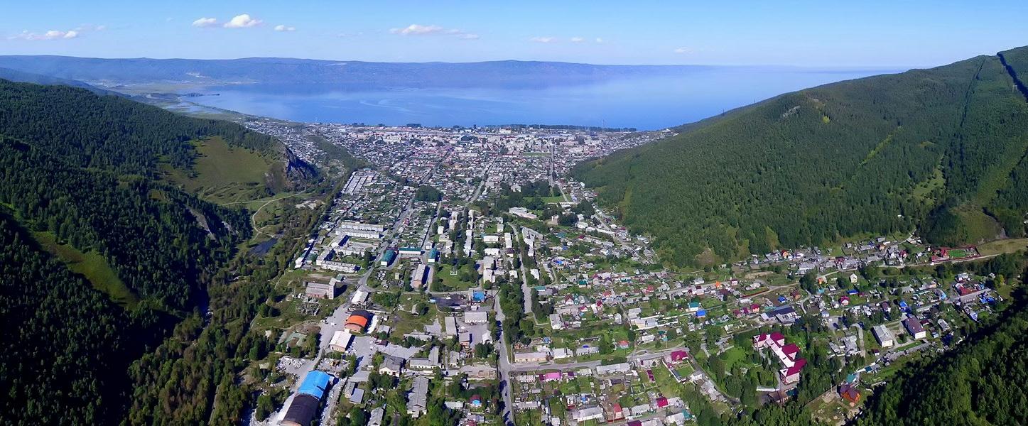 Иркутская область с высоты