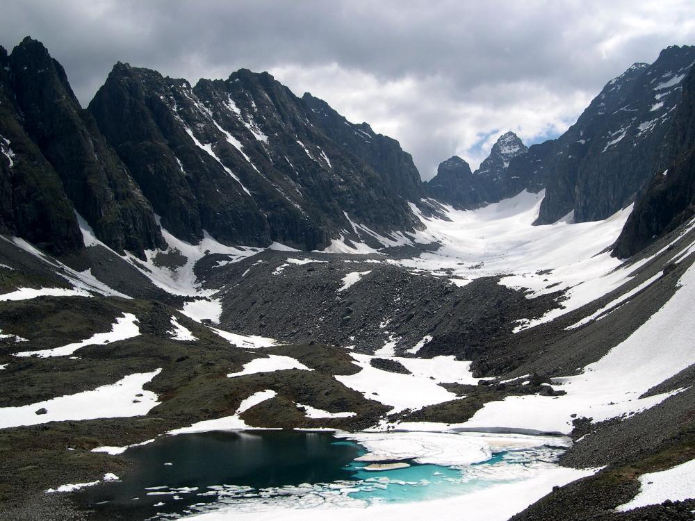 Кодарские ледники