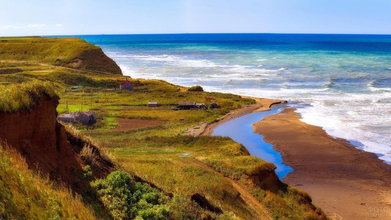 Юго-западное побережье острова Сахалин