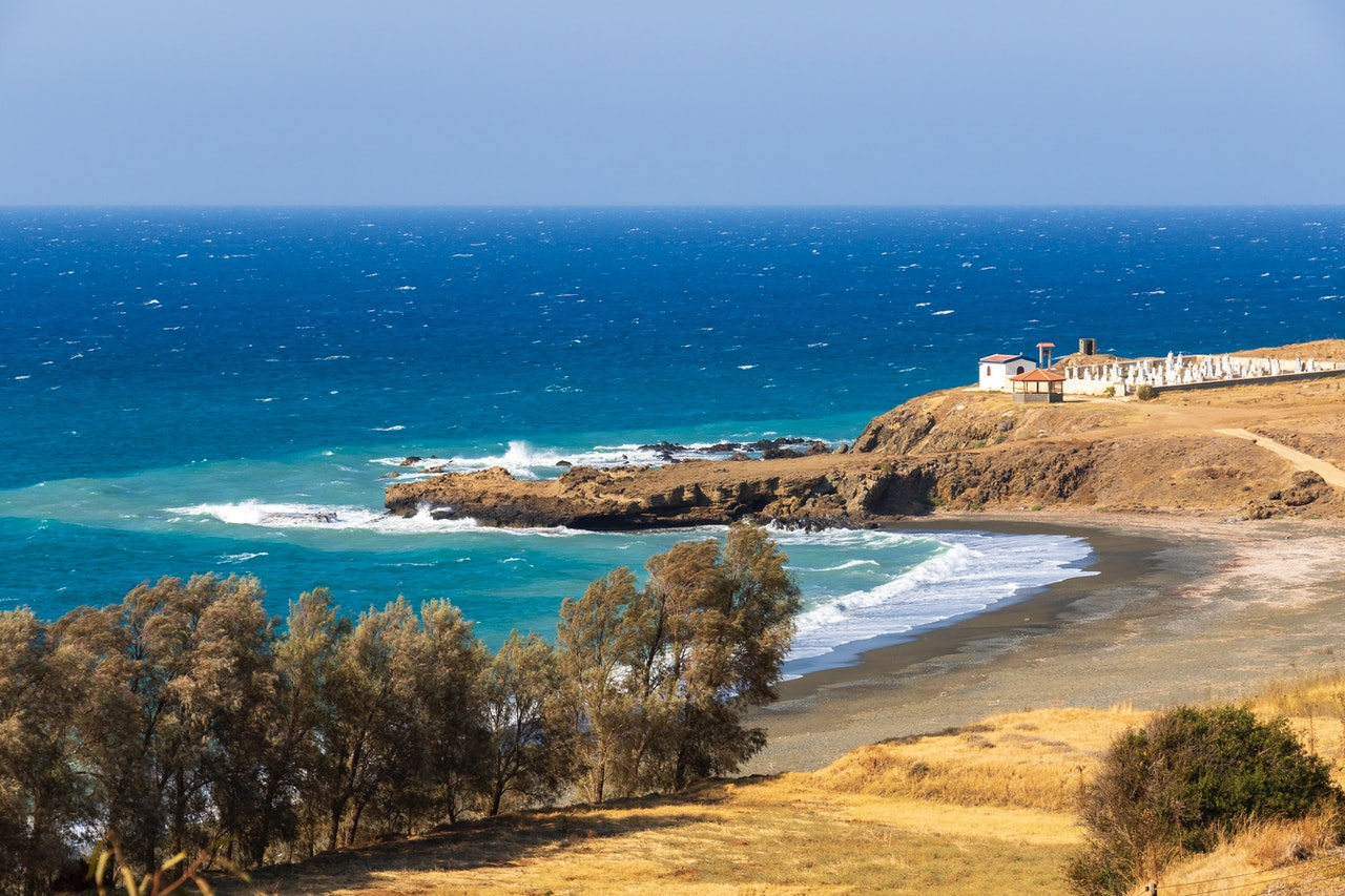 Пляж Пахиаммос, Кипр