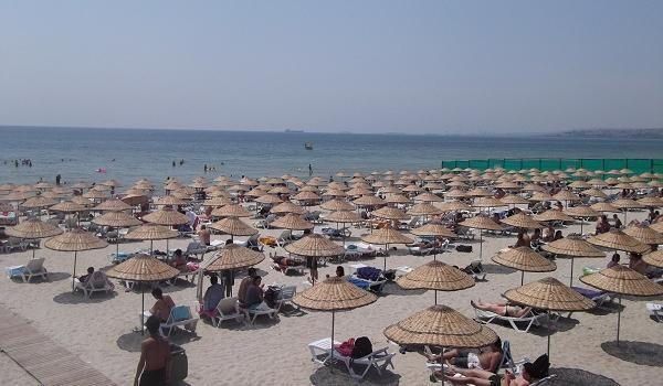 Пляж Джаддебостан (Стамбул. Азиатская часть)