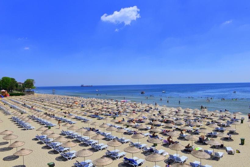 Пляж Флория (Стамбул. Европейская часть)