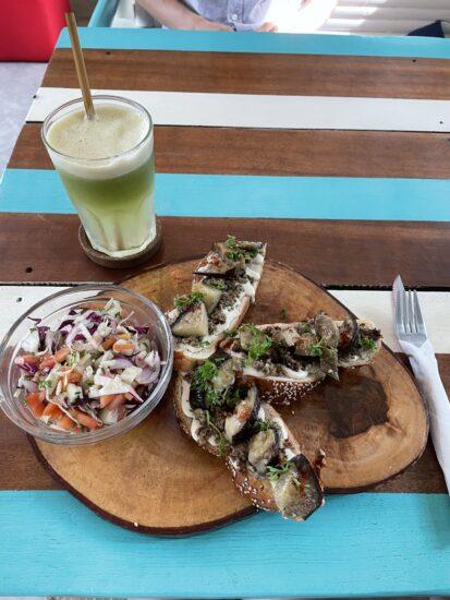 Блюдо из ресторана Capara в Таиланде