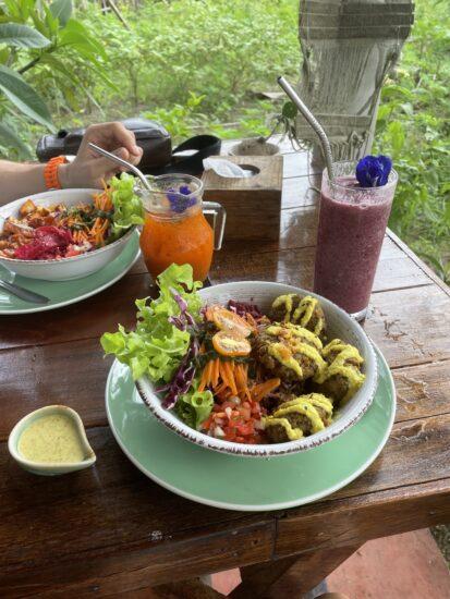 Блюдо в ресторане Pure Vegan в Пананге