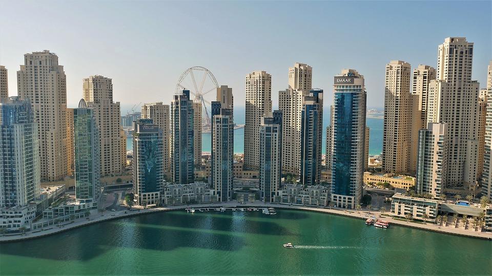 Современная архитектура Дубай