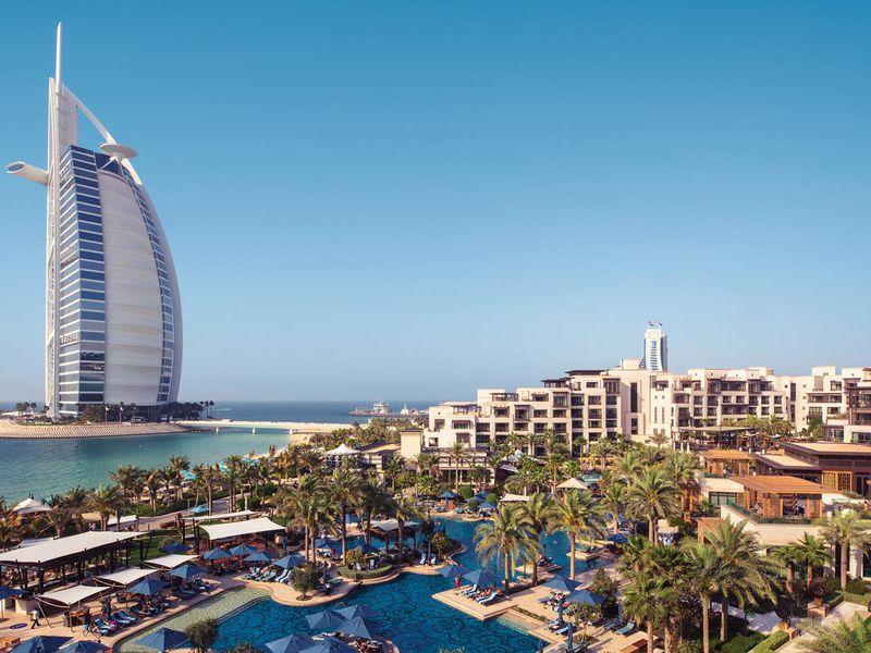 Отель Бурдж-аль-Араб в Дубай