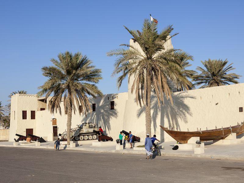 В эмирате Умм-эль-Кувейн