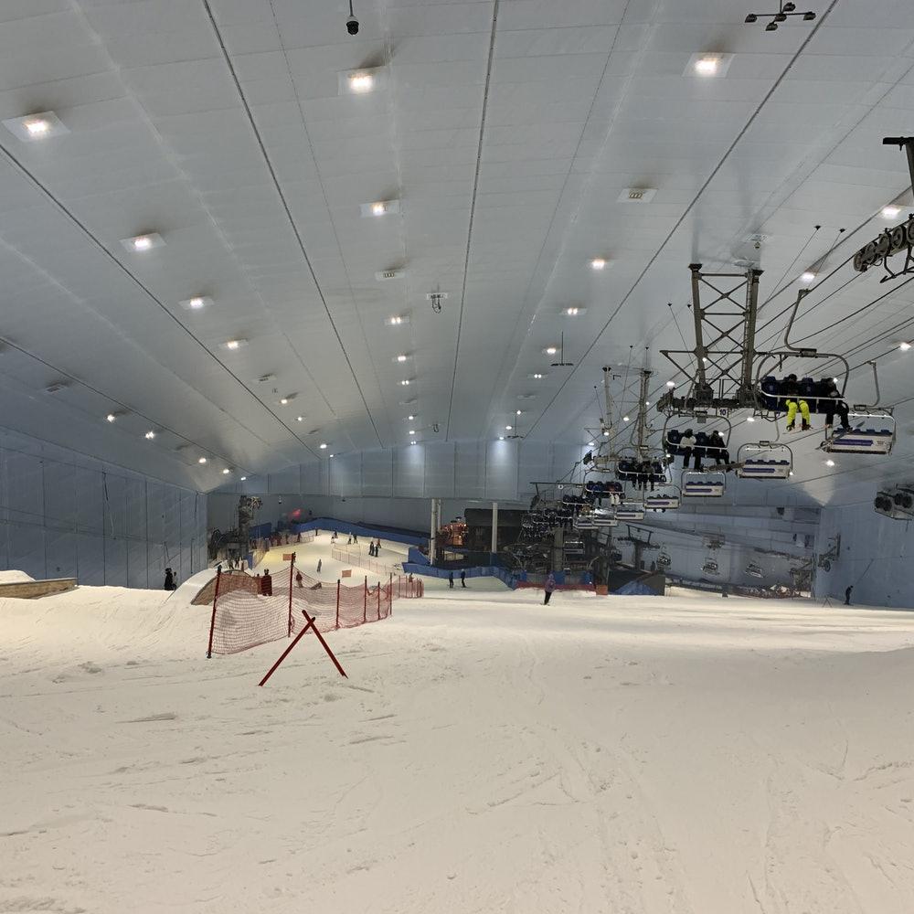 Горнолыжный склон Ski Dubai