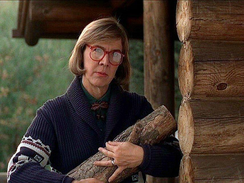 Женщина с поленом из сериала Твин Пикс