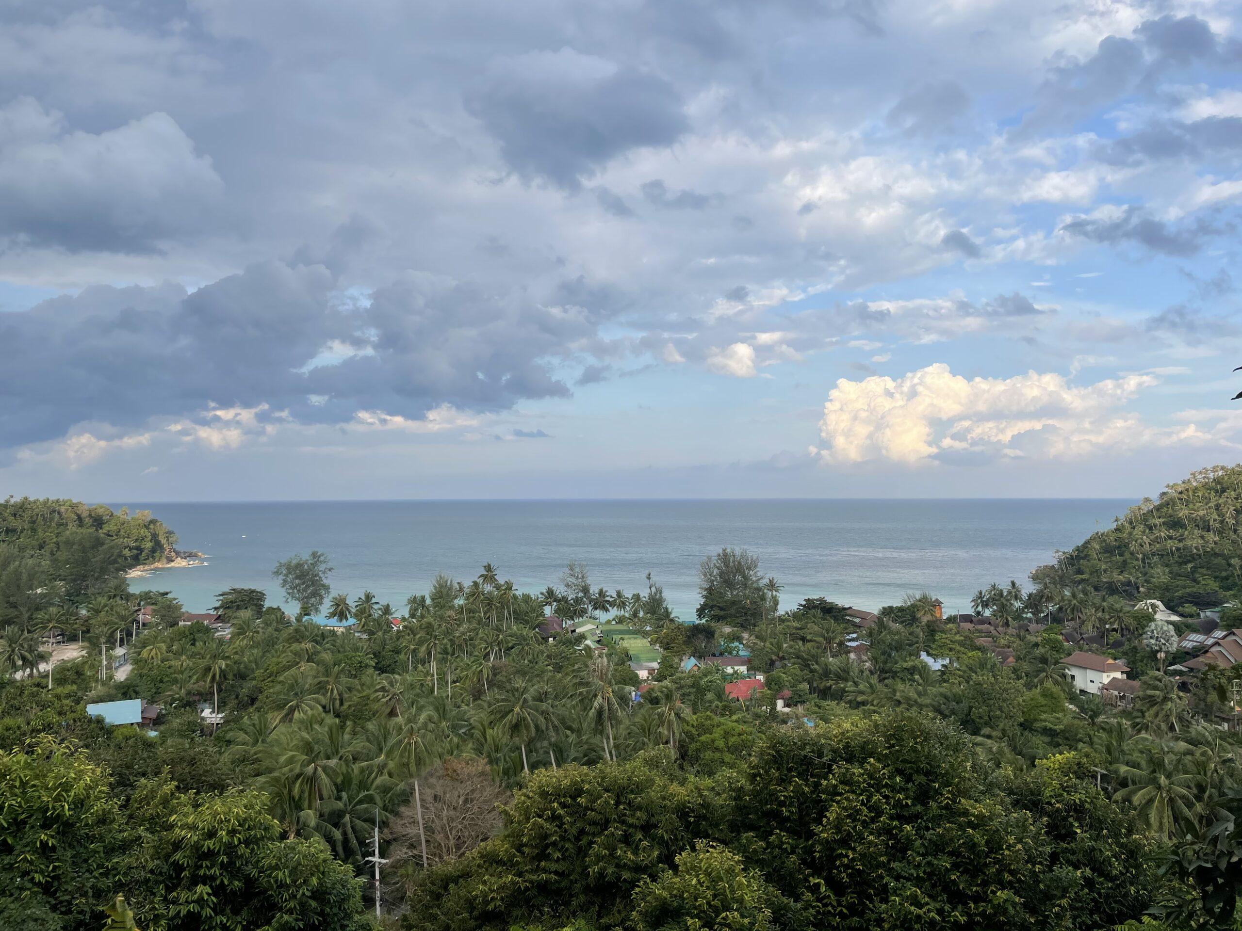 Вид на острове Панган