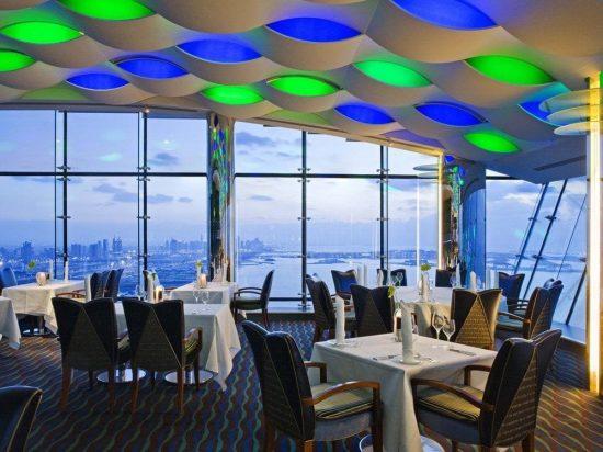 Ресторан Al Muntaha, расположенный на 27 этаже