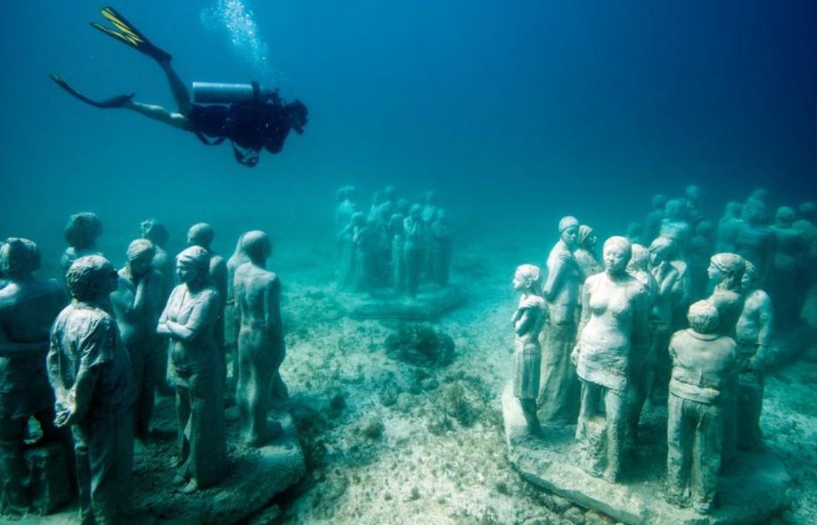 Музей подводных скульптур, Канкун
