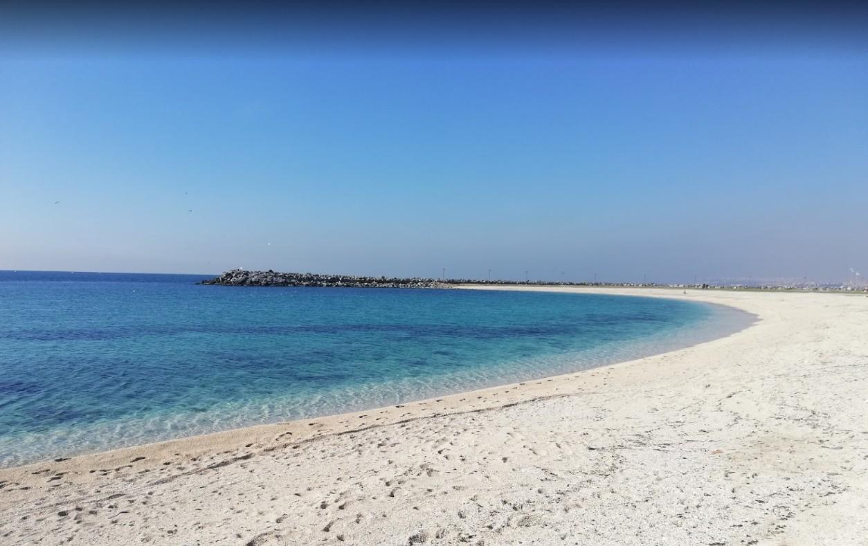 Пляж Ешилькёй на Мраморном море