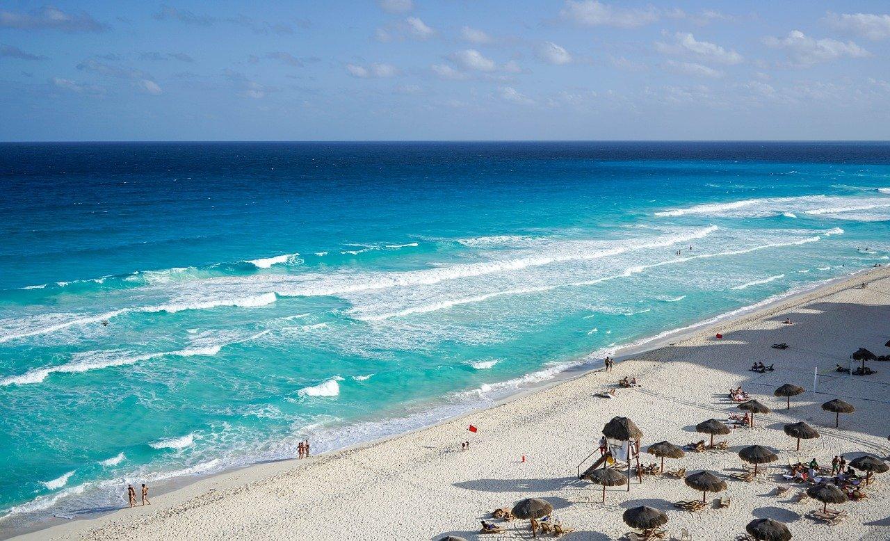 Пляж Канкуна
