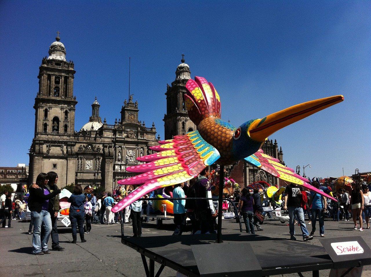 Мехико, площадь