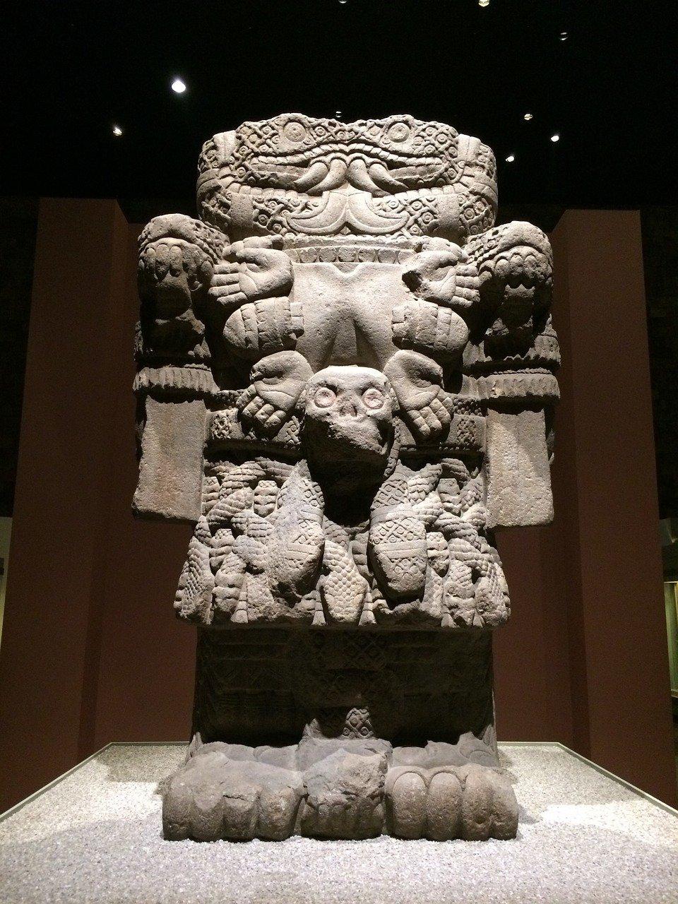 В музее антропологии, Мехико