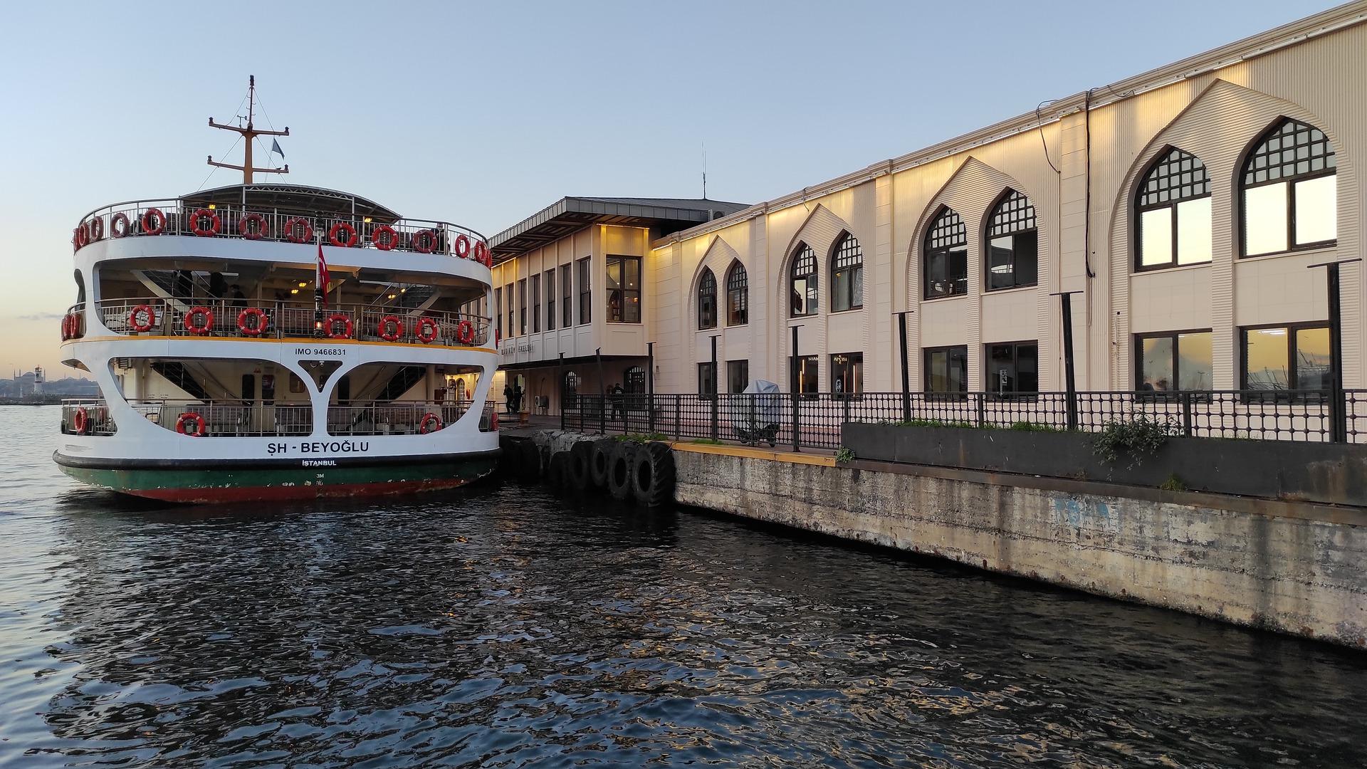 Причал Кадыкей, Стамбул