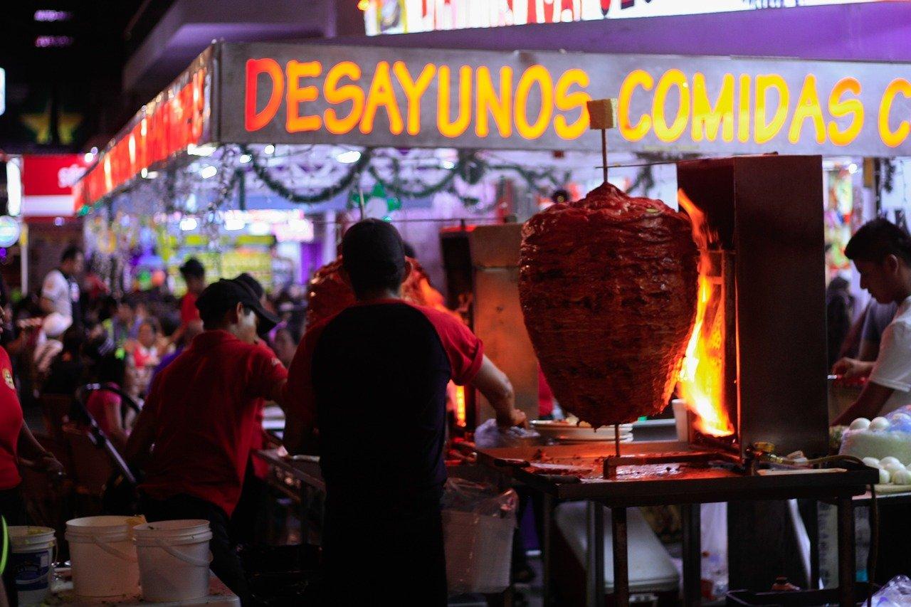 Уличная еда в Мексике