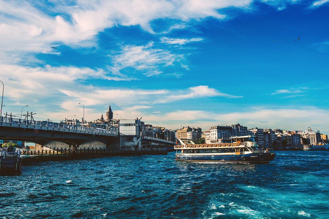 Пролив Босфор и Галатский мост