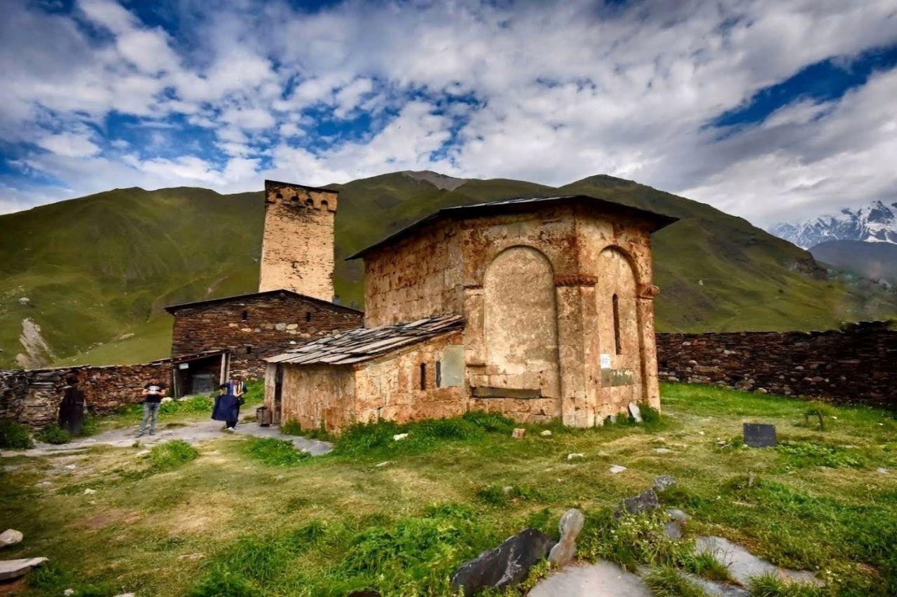 Средневековые деревни Сванетии