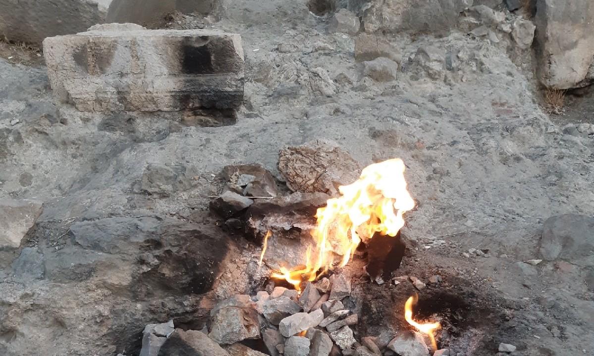 Огненная гора Янтараш