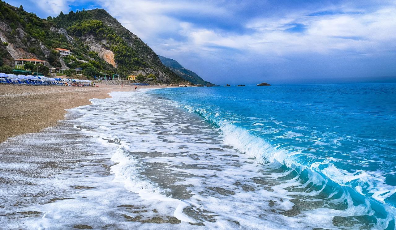 Остров Лефкас Греция