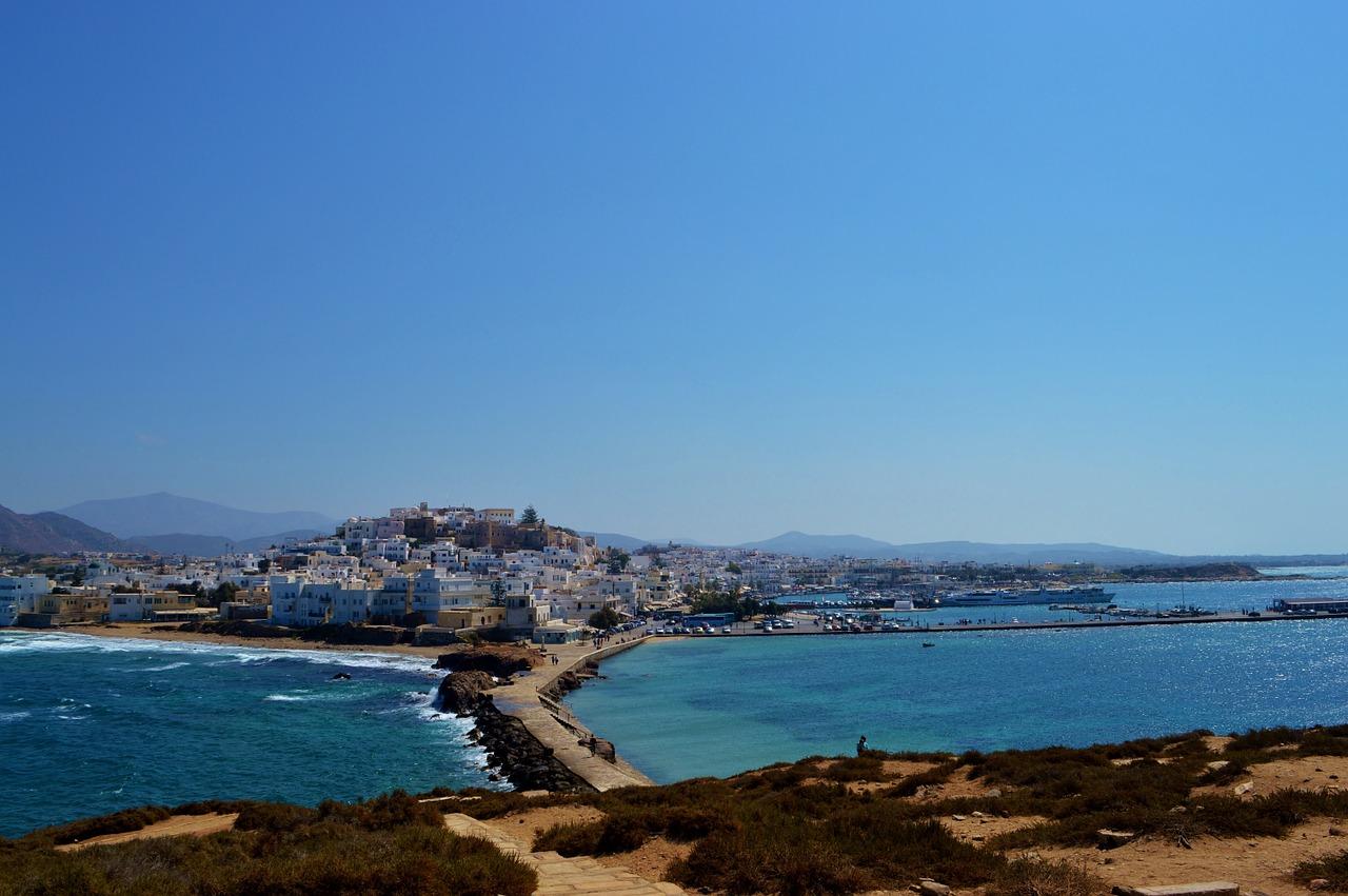 Остров Наксос Греция