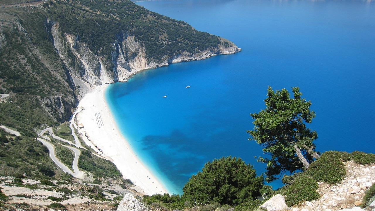 Пляж Миртос Греция
