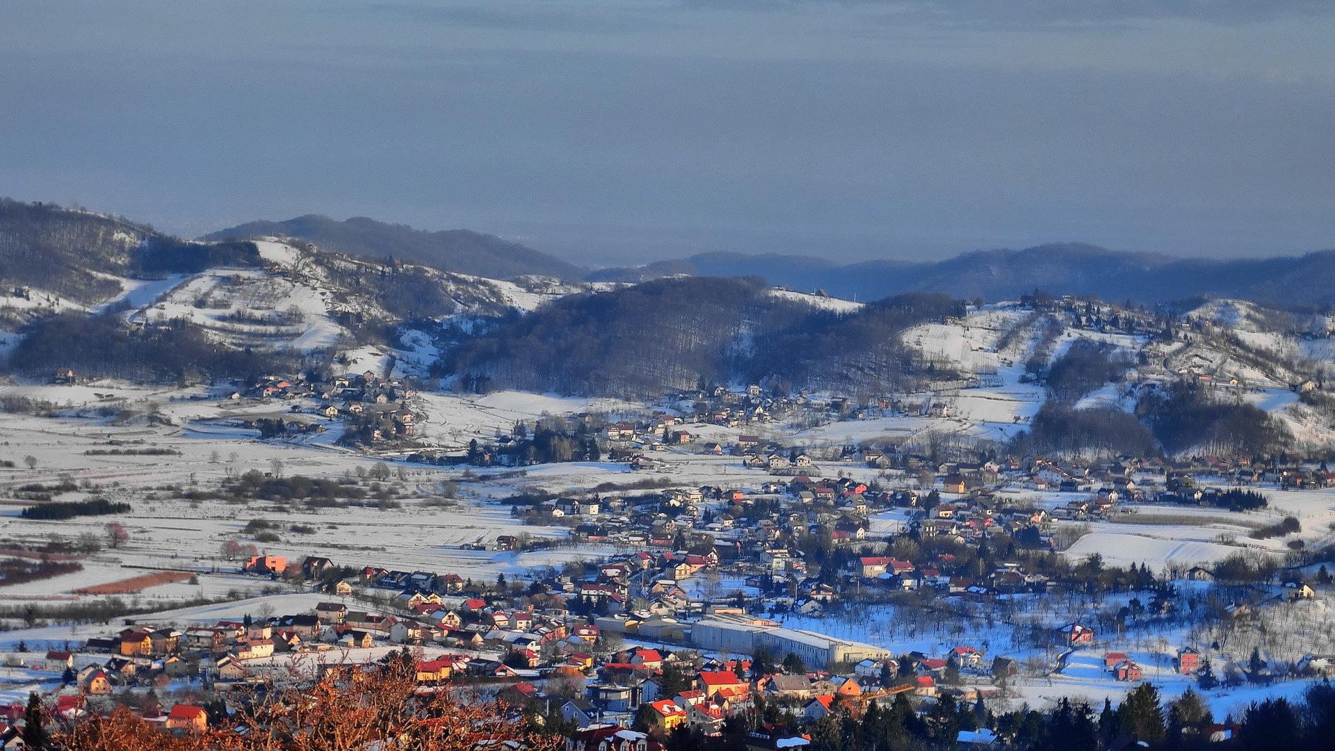 Вид на город Самобор