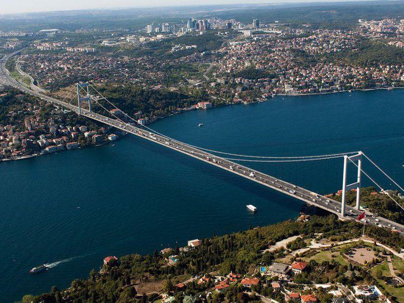 Стамбул и Босфорский пролив