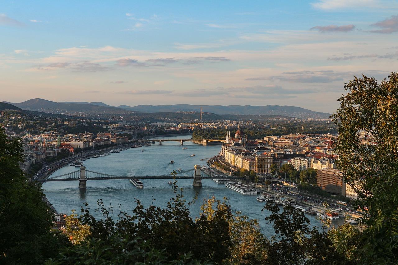 Венгрия, река Дунай