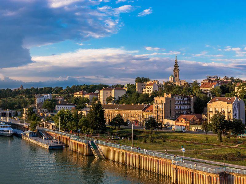 Город Белград — столица Сербии